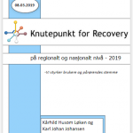 Rapport Knutepunkt for Recovery 2019